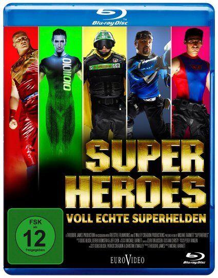 Blu-ray Superheroes Voll echte Superhelden Fsk 12 (K50)