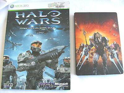 Halo Wars Limited Ed*steel Case*xbox 360/prima Official Guide Halo Wars*rare Buy Video Games & Consoles