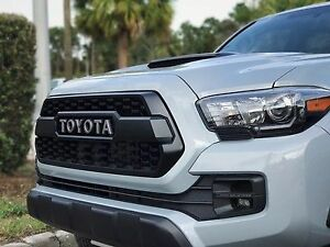 Image Is Loading 2016 2017 Toyota Tacoma Trd Pro Grill Oem