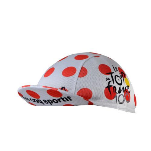 Cycling Tour de France Breathable MTB Team Hat Bike Bicycle Caps Quick dry Sport