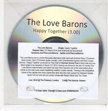 (GE23) The Love Barons, Happy Together - 2014 DJ CD