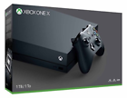 Microsoft Xbox One X 1TB Black Home Console