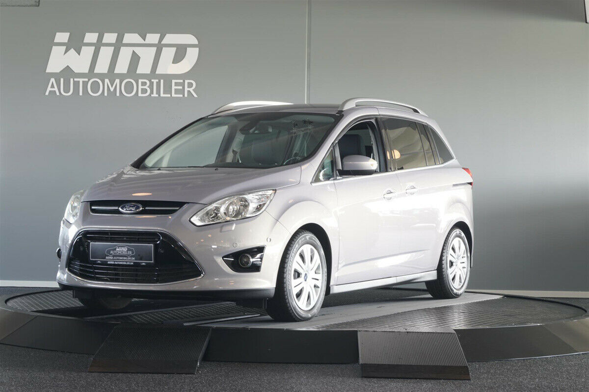 Ford Grand C-MAX 1,6 TDCi 115 Titanium 5d - 79.800 kr.