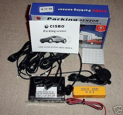 Rear 4 Point Parking Sensor Kit Buzzer Ultrasonic For VW Caravelle T4 T5