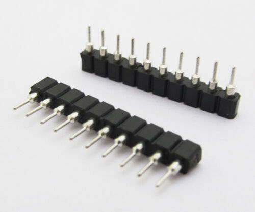 10 pcs DIP Round 10pin IC Socket Adaptor Solder Type 2.54mm