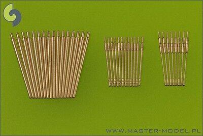 BISMARCK 3,7cm SKC30 & 2cm C30/C38 FLAKROHRE (36 STÜCKE) 1/200 MASTER NEUHEIT