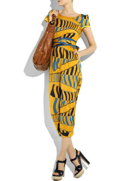 Marc By Marc Jacobs - Dashiki Jumpsuit - Size 2 - NEW WITH TAGS - Yellow Cotton