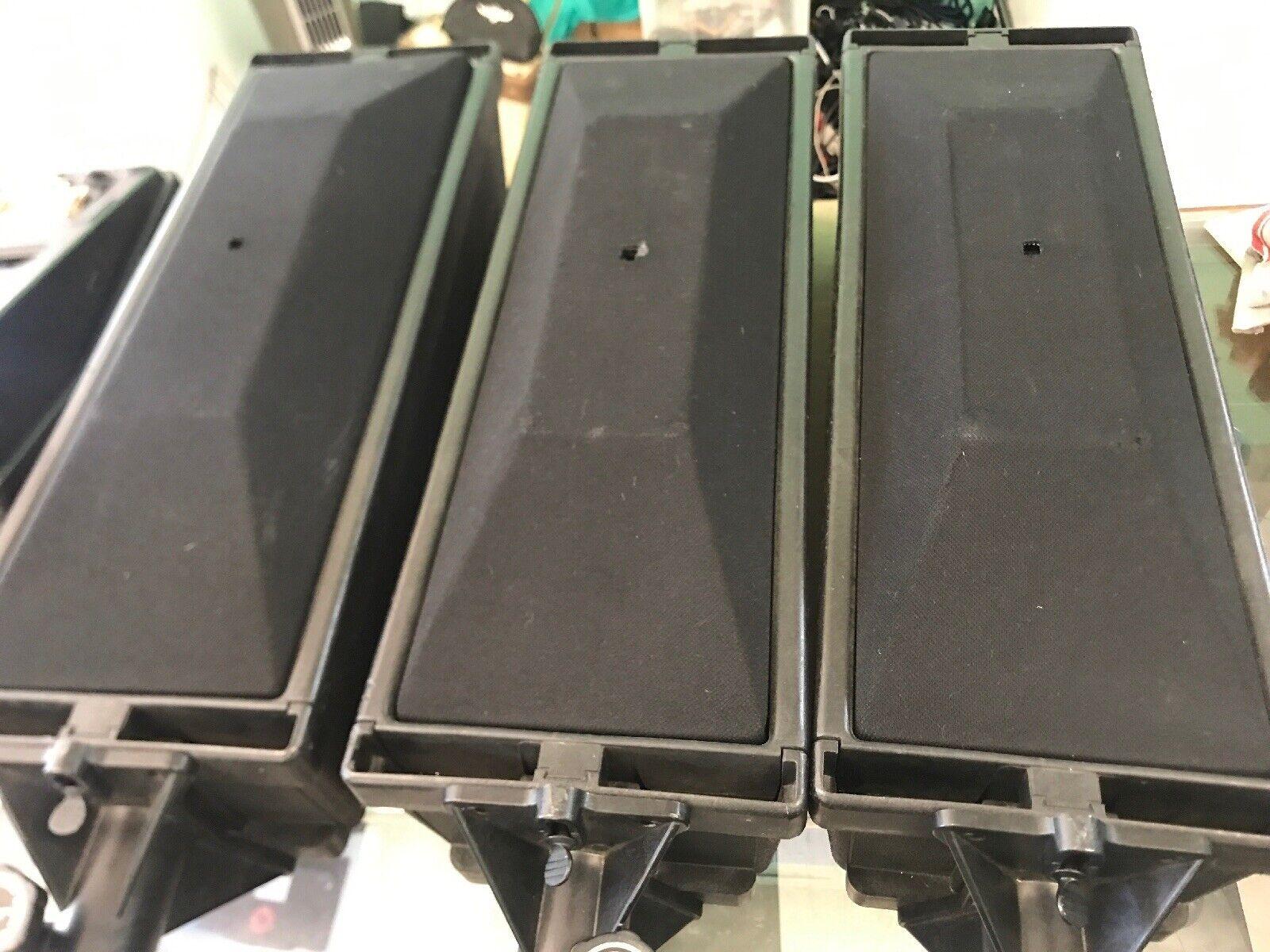 3  Vintage Bose 402 speakers Professional Loudspeakers