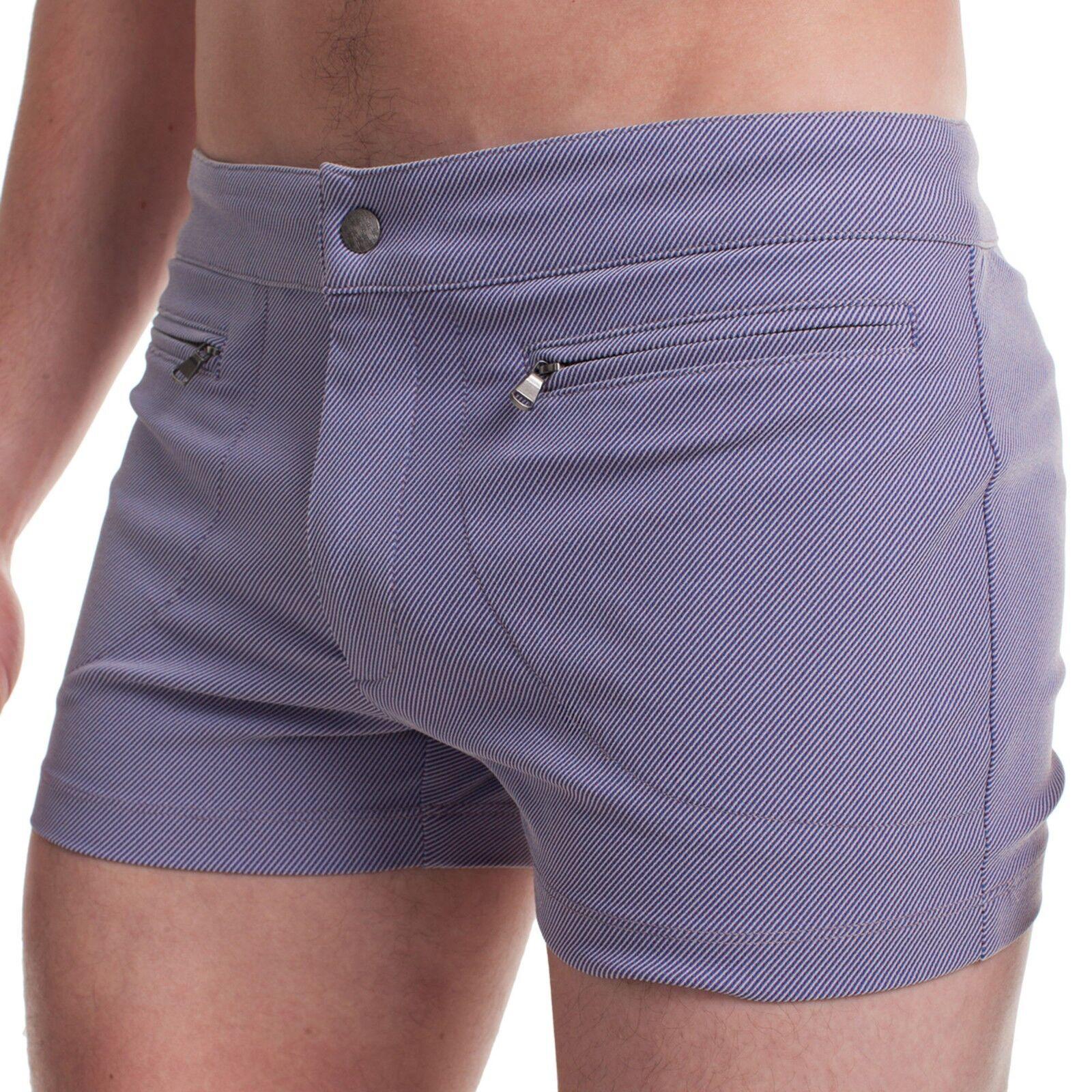 MR TURK 'Jones Bch Criss Cross Jacquard' Men's Swim Bathing Trunks Shorts 31 NWT