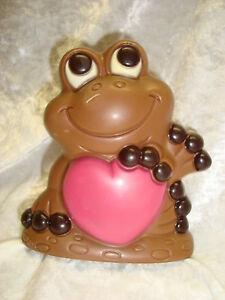 100g-9-08-Schokolade-Vollmilch-034-Frosch-034-mit-Herz-Geschenk-Weihnachten-Liebe