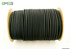 Elastic-Shock-Cord-Tie-Down-Bungee-Rope-Black-EXTRA-STRONG-High-Quality