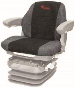 Baumaschinen Radlader Bagger  Schonbezug Sitzbezug Grammer Maximo Compacto