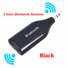 Wireless Bluetooth 3.5mm AUX Audio Stereo Music Car Receiver Adapter Speaker Kit
