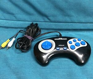Sega-Genesis-FIRECORE-AtGames-2011-039-Plug-and-Play-039-Style-Game-Controller-WORKS