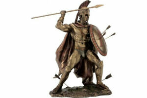 Leonidas-the-King-of-Sparta-Cold-Cast-Bronze-Statue-Sculpture-21cm-8-26inches