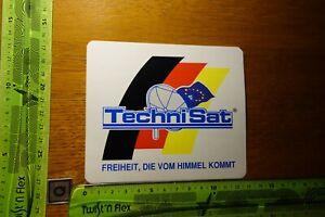 ADESIVI età Radio TV SATELLITE Technisat sistema satellitare (B)