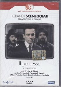 2-DVD-Caja-Serie-Del-Drama-Rai-El-Proceso-Por-Franz-Kafka-Completo-Nuevo-1978