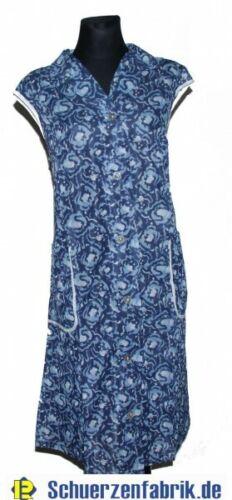 Damen Kittel Schürze Dederon Polyester Kragen 2 Taschen