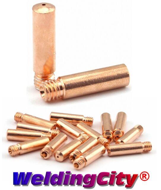 """WeldingCity 2-pk Liner 43115 15-ft Bernard 200//300A MIG Welding Gun 030/""""-045/"""""""