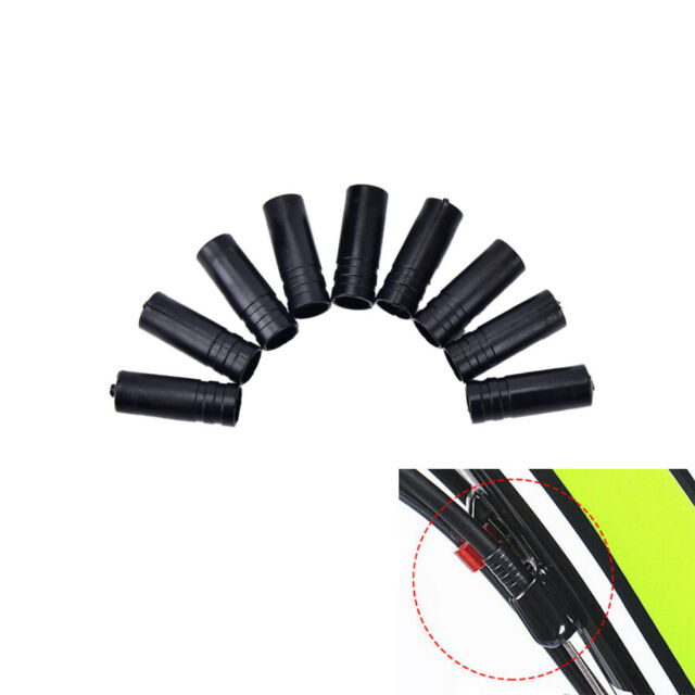 Plastic Brake Cable End cap Black Cycling Spare Component Parts Accessories