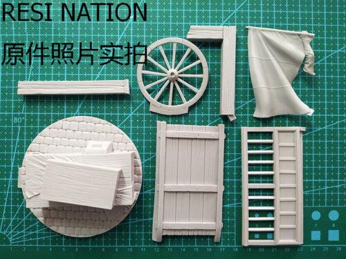 ██ Resin 75mm 1//24 French Revolution Warrior W//Cart Unpainted Unassembled 1298