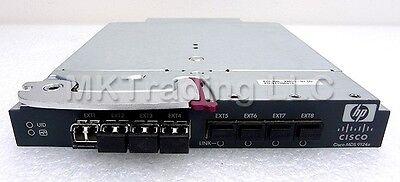 AG642A Hewlett-Packard C7000 Cisco AG642A DS-HP-FC-K9 MDS 9124e Blade Switch Mod
