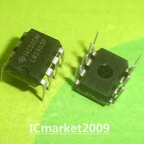 50 PCS LM2903P DIP-8 LM2903 DUAL DIFFERENTIAL COMPARATORS NEW