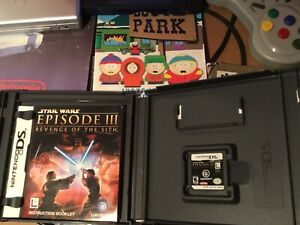 Nintendo Ds Game Star Wars Episode Iii Revenge Of The Sith With Case And Manual 8888162391 Ebay