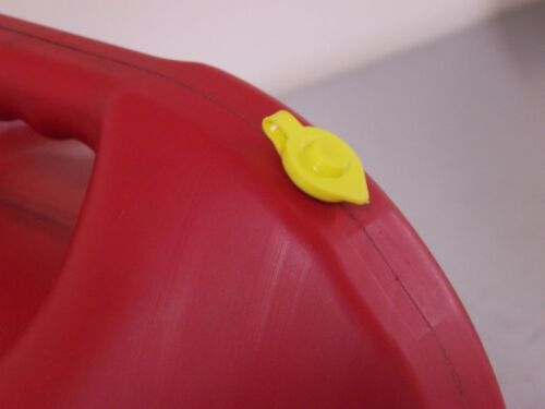 New Yellow VENT CAP Gas Fuel Can Midwest Blitz Scepter Ameri-can HEAVY DUTY