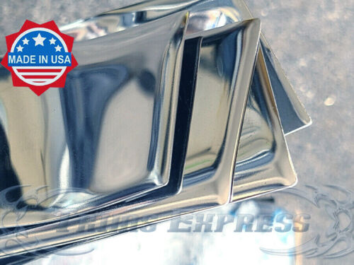 1999-2003 Acura TL 4Pc Chrome Flat Body Side Molding Trim Accent Stainless Steel