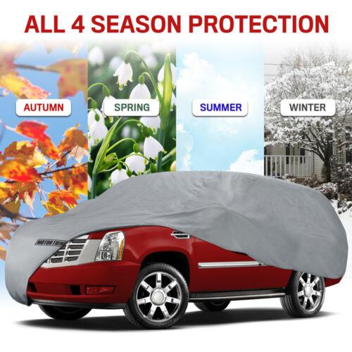 Full SUV Car Cover for Kia Motor Trend Waterproof Indoor Outdoor Dirt Resistant