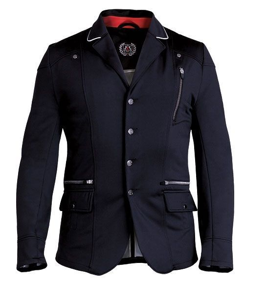Fair play Uomo Softshell Jacket FP Ralf, Nero