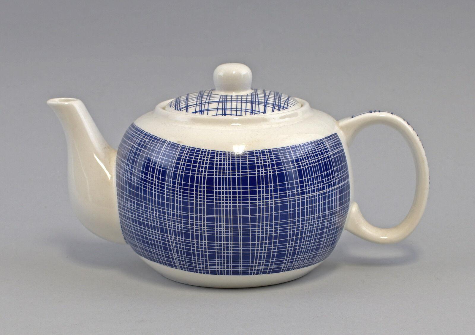 9952436 Tee-Kanne Brillantporzellan Nippon Linien blau 23x13cm 23x13cm 23x13cm 0,8L c754b3