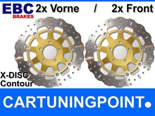 EBC Discos de freno delant. SUZUKI GSF 1200 Unidad / SV/SW / SX / SY (faired