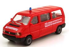 1:87 VW Volkswagen T4 Bus lang MTW rot Friedensdorf International AMW/AWM 9313