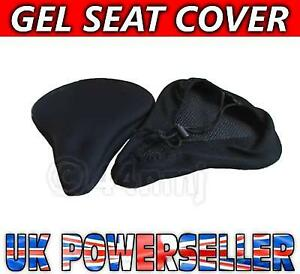 NEW-BIKE-BICYCLE-CYCLE-ADJUSTABLE-GEL-SADDLE-SEAT-COVER