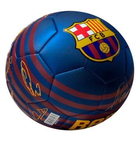 Pallone ufficiale Barcelona MINI 2 Barcellona 2019 originale firme autografi BLU