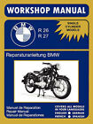 BMW Motorcycles Factory Workshop Manual R26 R27 (1956-1967) by BMW (Paperback, 2007)