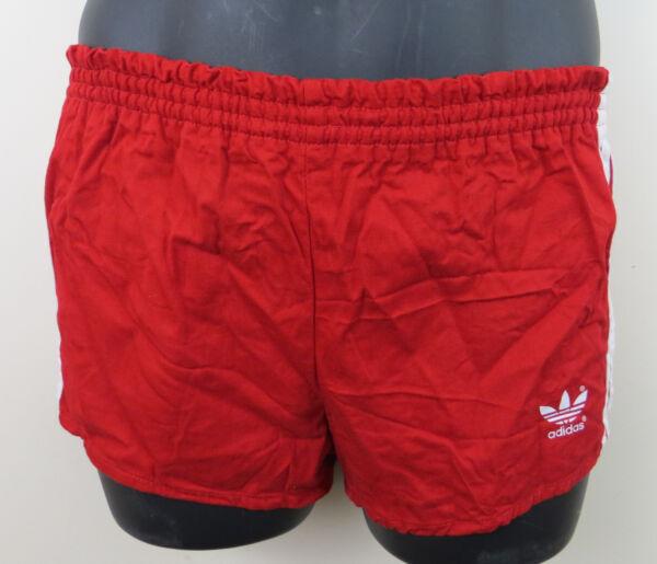 2019 Ultimo Disegno Vintage Adidas 80s Cotone Pantaloncini Da Calcio Retrò Vintage 1980s Da Uomo 176cm Small Xs S