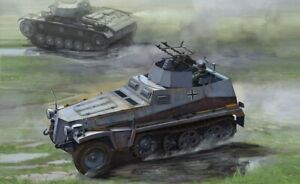 Dragon-6878-1-35-WWII-Allemand-Sdkfz-250-4-Modele-A-avec-Twin-Mg34-Neuf