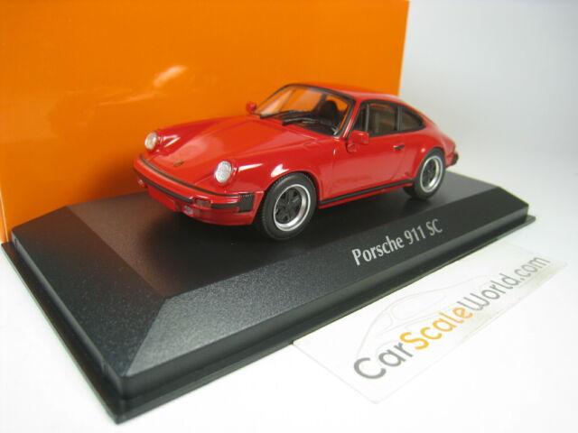 PORSCHE 911 SC (930) 1979 1/43 MAXICHAMPS (RED)