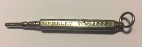 1925 VINTAGE CHROME MECHANICAL PENCIL WEMBLEY 7 cm in length