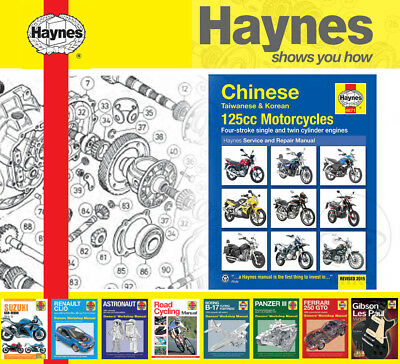 Motorcycle Parts Vehicle Parts & Accessories Haynes Service Repair ...