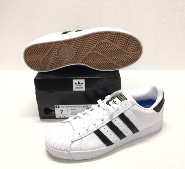 finest selection 665a8 12789 adidas Originals Men's Superstar Vulc ADV Shoes Core Black/white 5 M US