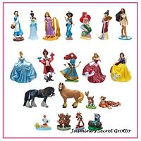 Authentic Disney Princess Mega 20 Piece Figurine Figure Cake Topper Play Set