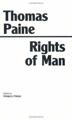 Rights of Man, Hardcover by Paine, Thomas; Claeys, Gregory, Like New Used, Fr...