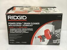 New Listingridgid 57043 Power Spin Drain Cleaner With Autofeed