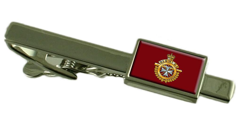 Militare Reale Bermuda Bermuda Bermuda Regiment Fermacravatta Inciso df42c2