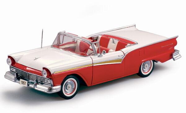 1957 Ford Fairlane rojo 1 18 SunStar  1331