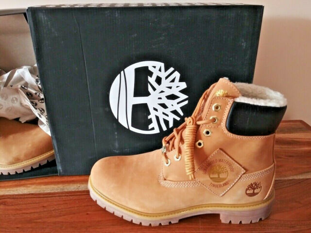 lineal dinastía conductor  10061 Timberland 6 Inch Premium Boot Wheat Nubuck Tb010061 10 for sale  online | eBay